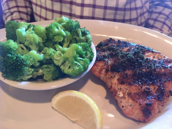 Blacksburg, VA: Salmon was good