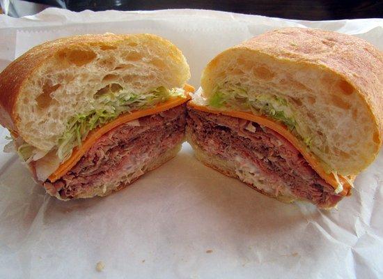 Morris Plains, NJ: Prime Roast Beef Sandwich