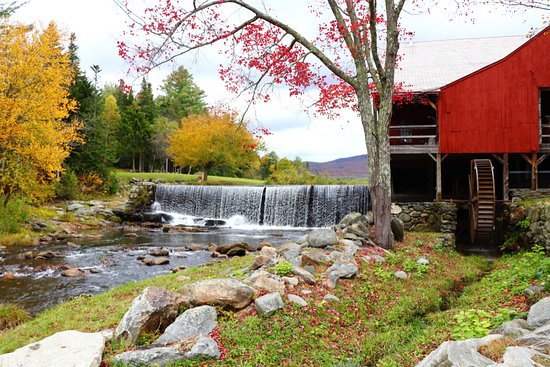 Weston, VT: The Mill on an Autumn Day