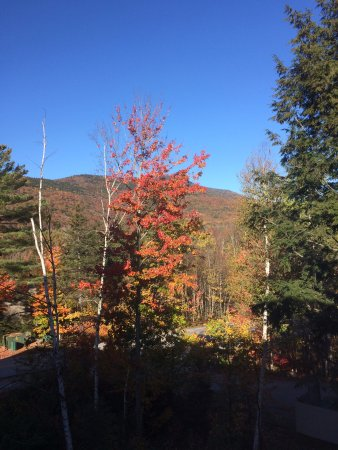 Waterville Valley, NH: View from the 3rd floor room window