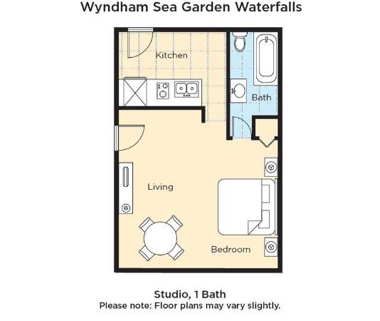 Wyndham Sea Gardens Floor Plan - Picture of Wyndham Sea Gardens ...
