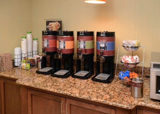 Wake Forest, NC: Breakfast Coffee Station