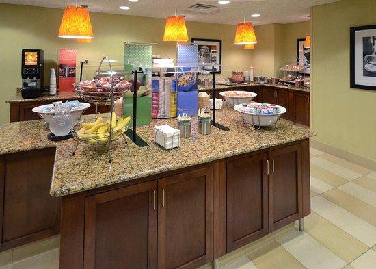 Wake Forest, North Carolina: Breakfast Food Area