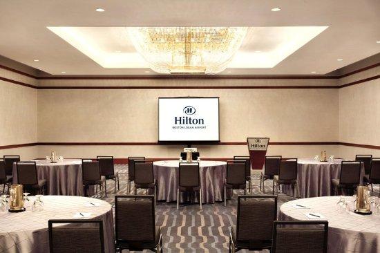 Hilton Boston Logan Airport: New England Ballroom