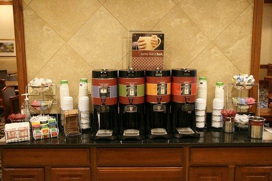Duncan, Carolina del Sur: Coffee Station