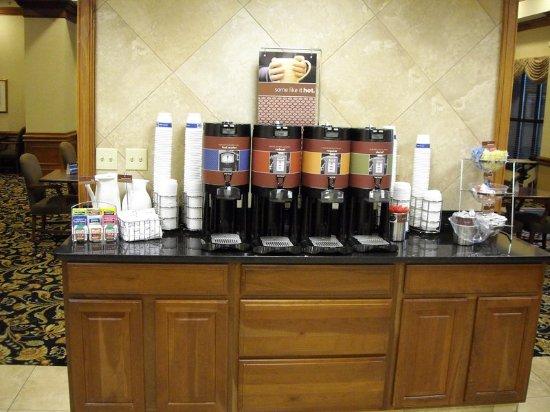 Duncan, Carolina del Sur: Our Breakfast Area