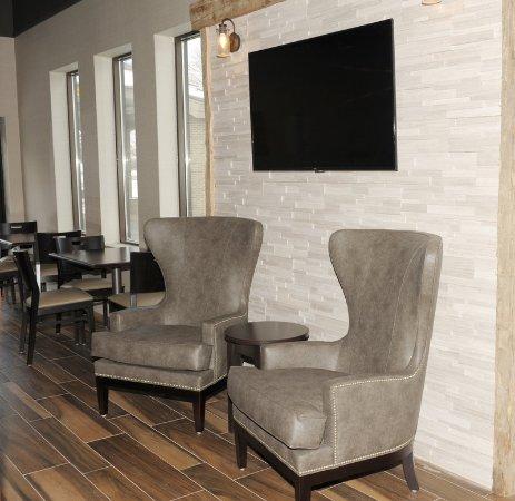 Okemos, Мичиган: Newly Renovated Breakfast Lounge