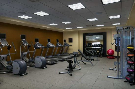 Fitness Center Billede Af Hilton Garden Inn Houston Nw America Plaza Houston Tripadvisor