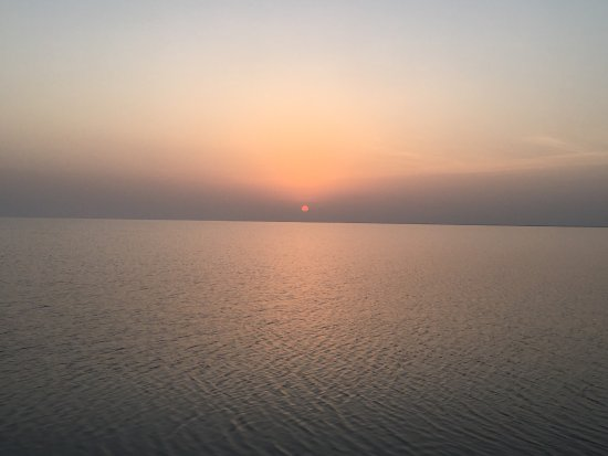 Dhordo, India: Beautiful Sun Rise @ white ran of kutchh..!! Reach there. Before sunrise and you can explore a b