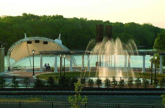 Riverwalk Amphitheater - Picture of Hampton Inn & Suites Montgomery ...