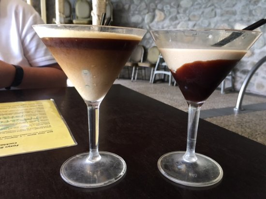 Fitzroy Island Resort: This is my cocktail that cost me $16, I am very disappointed