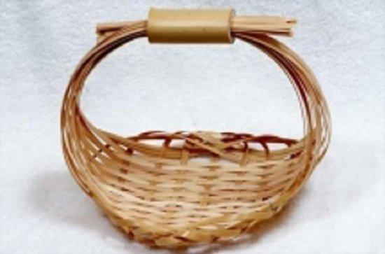 Atelier de fabrication de paniers en...