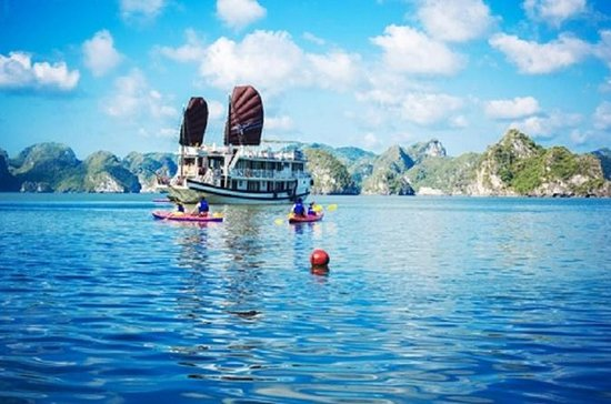 Halong Swan Cruise 3 days 2 nights boating trip Cong Dam Bai Tu Long...