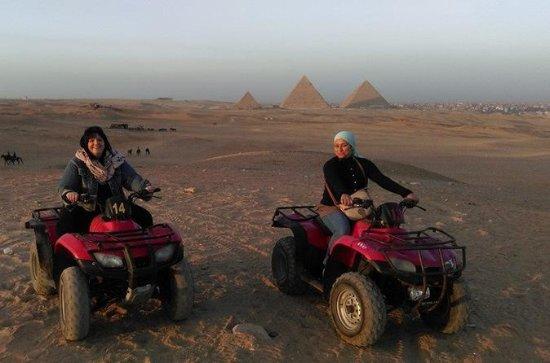 Halvdag Giza Pyramids Quad Bike Tour...