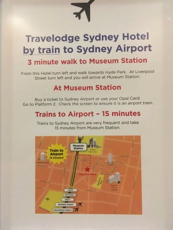 Hotel Airport Travel Instructions Picture Of Travelodge Hotel