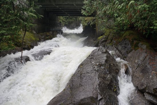 Skykomish, WA: Upper falls