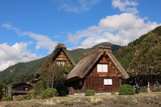 The Historic Villages of Shirakawa-go Gassho Style Houses