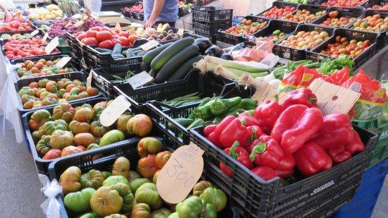 Garrucha, Spain: Kraampje met groenten