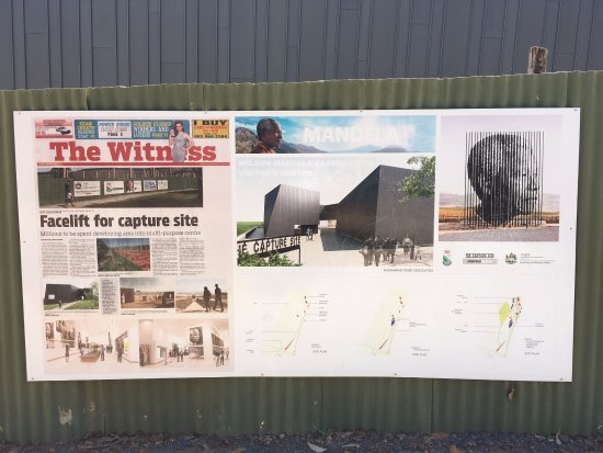 Nelson Mandela Capture Site : Plans for the new museum currently under construction