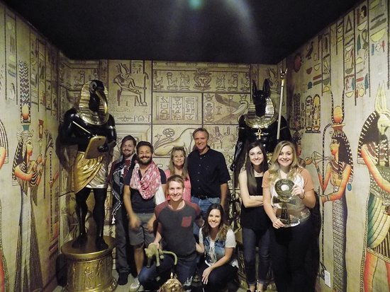 Bedford, TX: They unveiled the secret of the Egyptian Gods