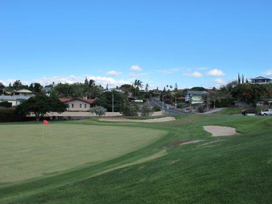 Waikoloa Village Golf Club: Waikoloa Village GC: Green of H13