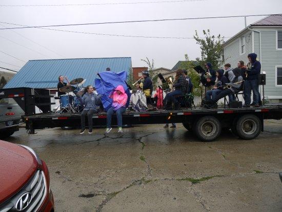 Alpine Lodge: local parade