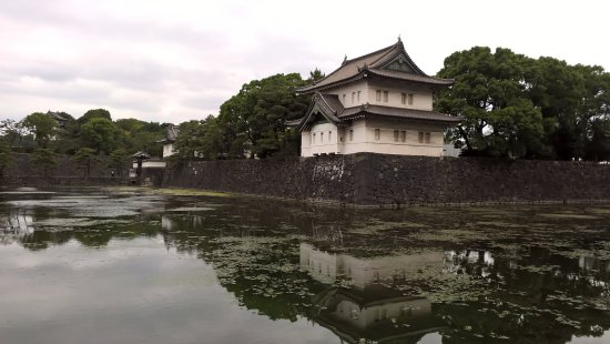 The East Gardens of the Imperial Palace (Edo Castle Ruin): 東御苑與其倒影