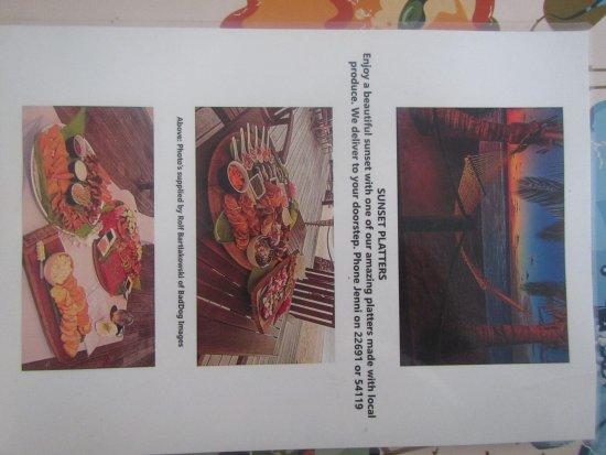 Arorangi, Wyspy Cooka: call Jenny - 22691 0r 54119 ; excellent!!!! no potato in sight