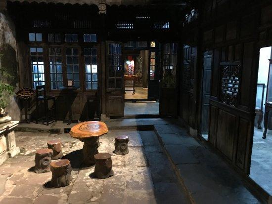 Museum of Trade Ceramics : 博物館奥の休憩所