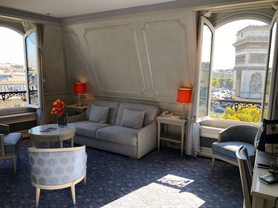 Hotel Splendid Etoile: Room 606 best room at the hotel