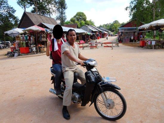 Phnom Kulen National Park: バイクタクシー、オフロード仕様車がどうして無いんでしょう・・・。
