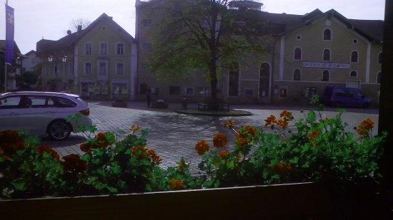 Halfing, Germany: Ausicht vom Restaurant