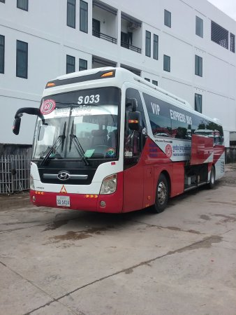 DON'T USE THIS BUS COMPANY - Review of Phnom Penh