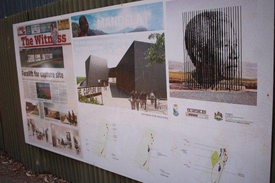 Howick, South Africa: Se esta haciendo un nuevo centro conmemorativo