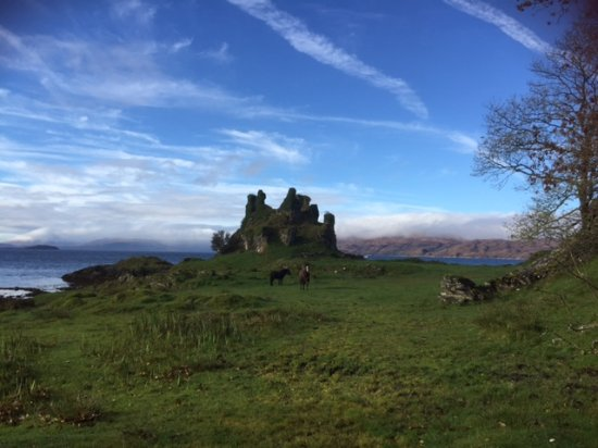 Isle of Lismore, UK: Coeffin Castle, Lismore