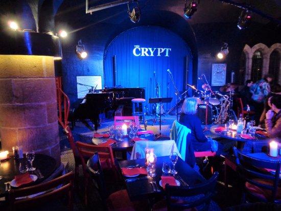 The Crypt Jazz Restaurant Reviews