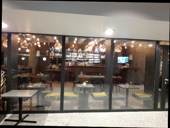 Restaurant Place Niemeyer Le Havre