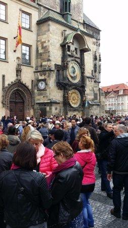 Rathaus und astronomische Uhr (Orloj): Pražský orloj