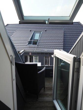 Hotel Kuenstlerquartier Seezeichen: Mini Balkon