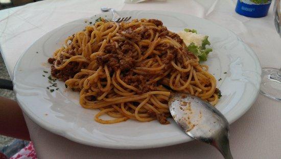 Ankaran, Eslovênia: huge selection of pasta
