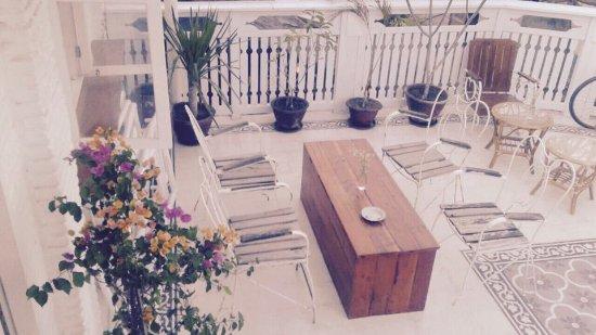 Pemenang, Indonesia: 2 nd floor terrace