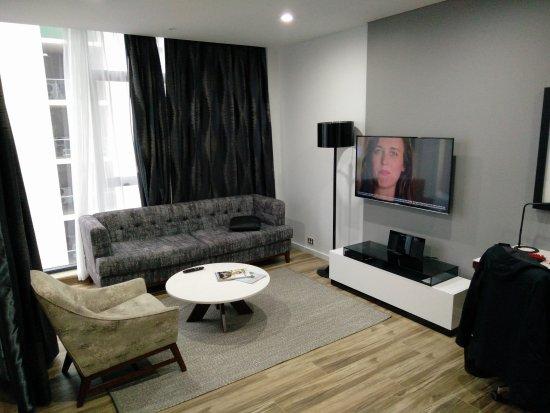 Mascot, Australia: living room