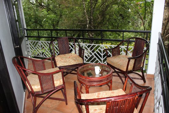 The Tall Trees Munnar: Sit-out in our Villa