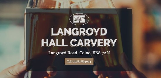 Colne, UK: Langroyd Hall Carvery