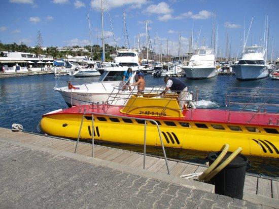 Yaiza, Spain: Submarine