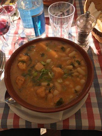 Sette di Vino: Zuppa fagioli