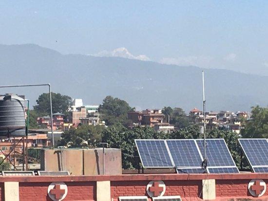 Kathmandu Grand Hotel: desde la habitación se ve el Himalaya