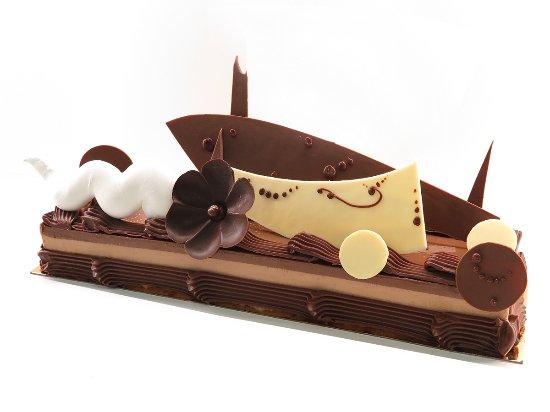 patisserie Lamontagne : Tarta caramel