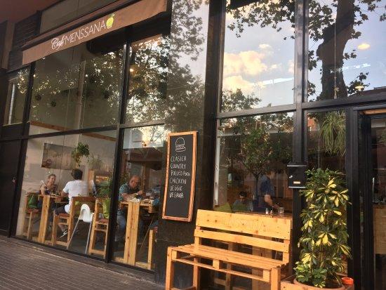 Cafe Menssana Menu