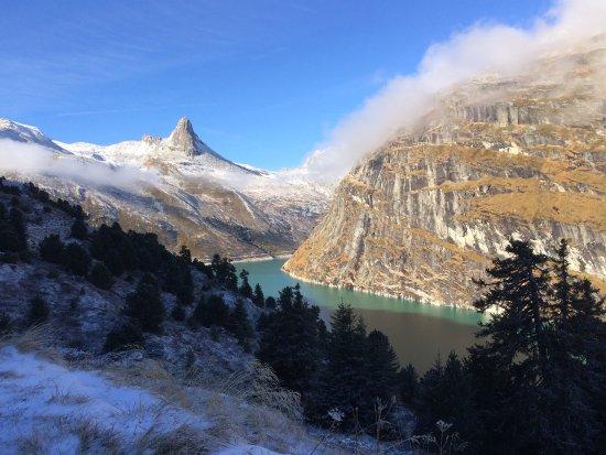 Wanderung in naher Umgebung, Vals, Naturwaldreservat Zerfreila